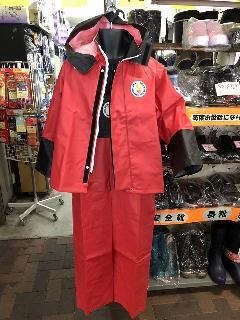ハイパーマリンエクセルプロ ジャケット(レッド) 4L