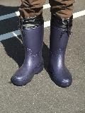超軽量かるぬくブーツ N−2501(ネイビー)