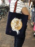 オリジナル帆布かばん(紺)一枚分仕立て