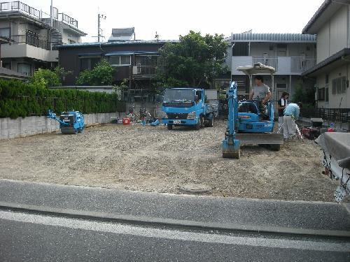 横浜市栄区 駐車場舗装工事