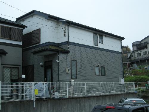 神奈川県横浜市南区個人住宅の外壁、屋根の塗り替え工事