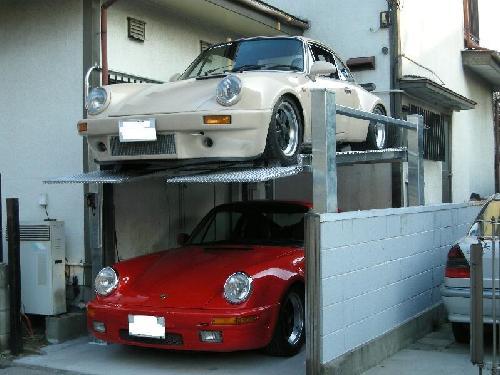 東京都練馬区立体駐車場設置工事