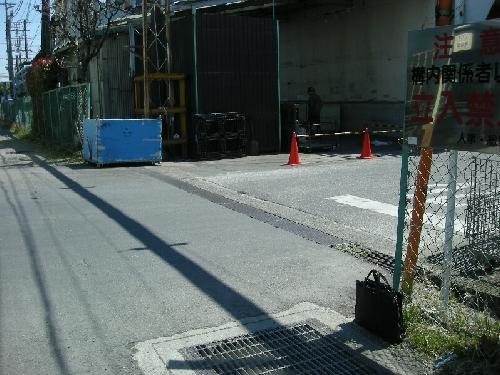 神奈川県寒川町大型門扉取り付け工事