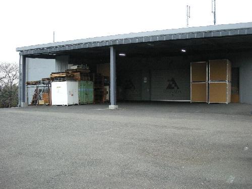 横浜市神奈川区倉庫アスファルト工事