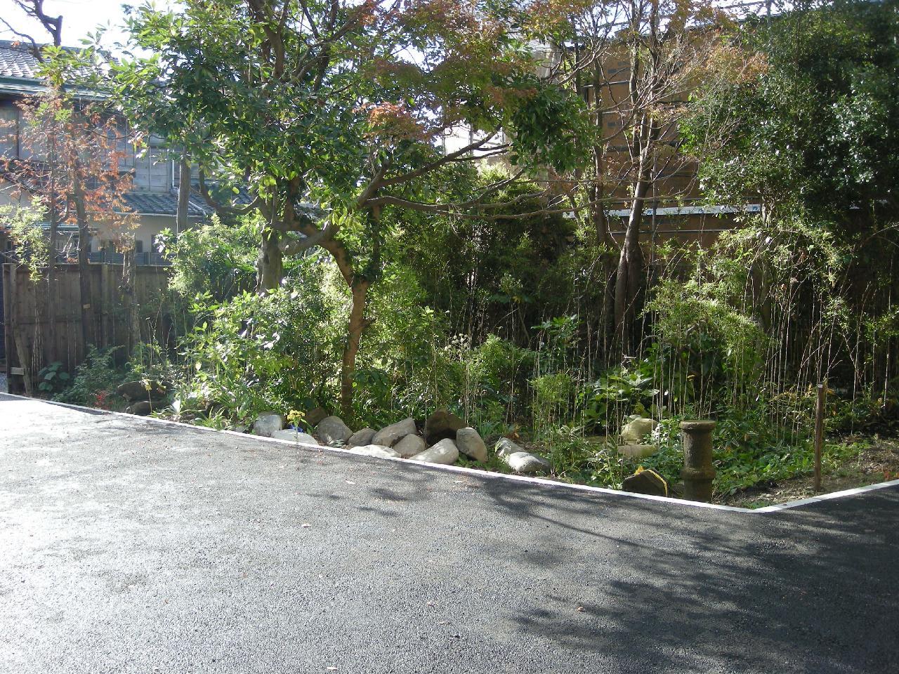 鎌倉市駐車場工事
