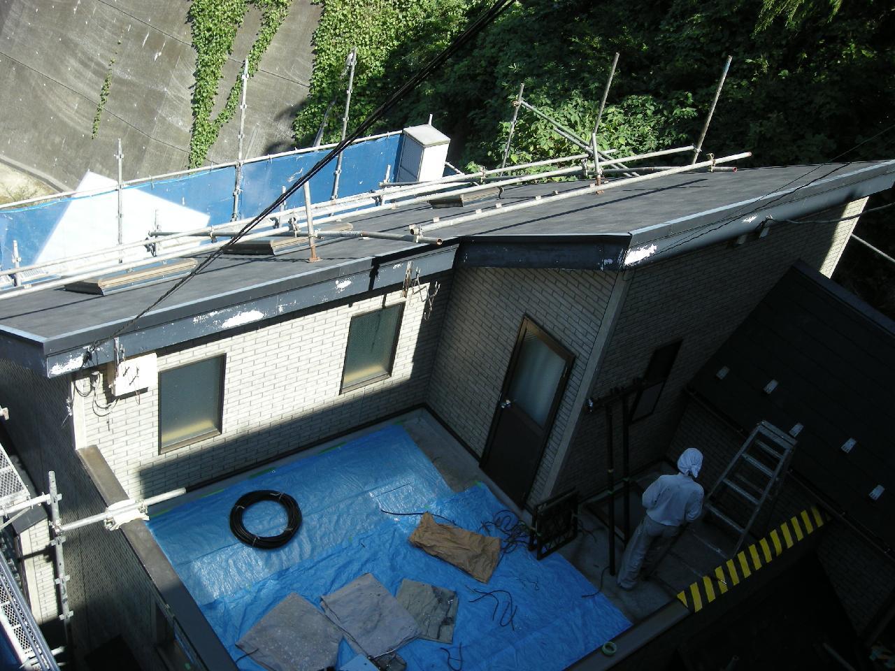 金沢区個人住宅外壁屋根塗装工事