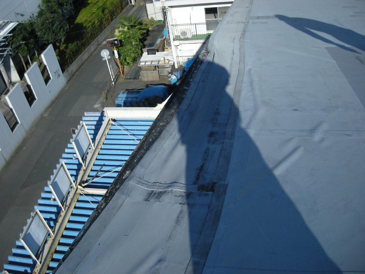 工場屋根防水工事