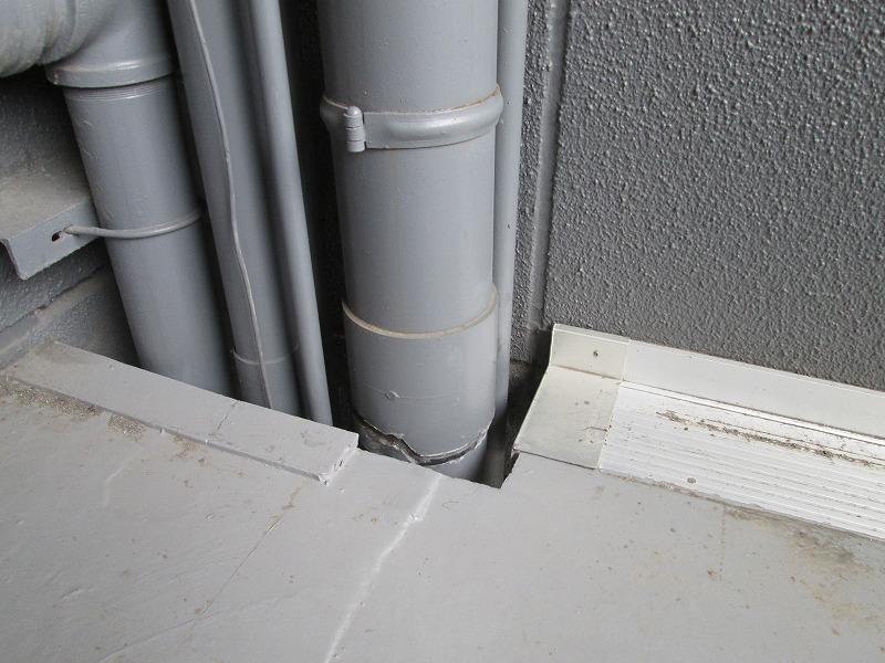 雨水排水管修理工事
