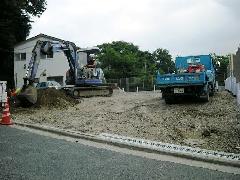 横浜市南区 アスファルト駐車場工事