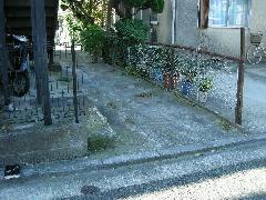 横浜市南区駐車場工事とフェンスやり変え工事