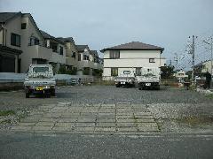 神奈川県横浜市 砂利敷き駐車場 造成工事
