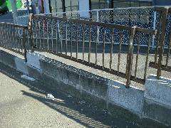 神奈川県横浜市神奈川区ブロックとフェンスの補修工事