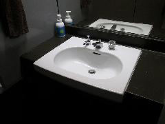 貸しビル洗面化粧台修理
