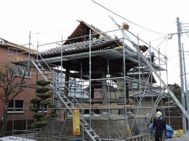 神社仏閣の補修工事