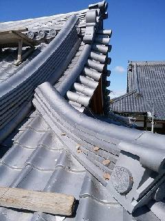 圓徳寺 鐘堂屋根修復工事