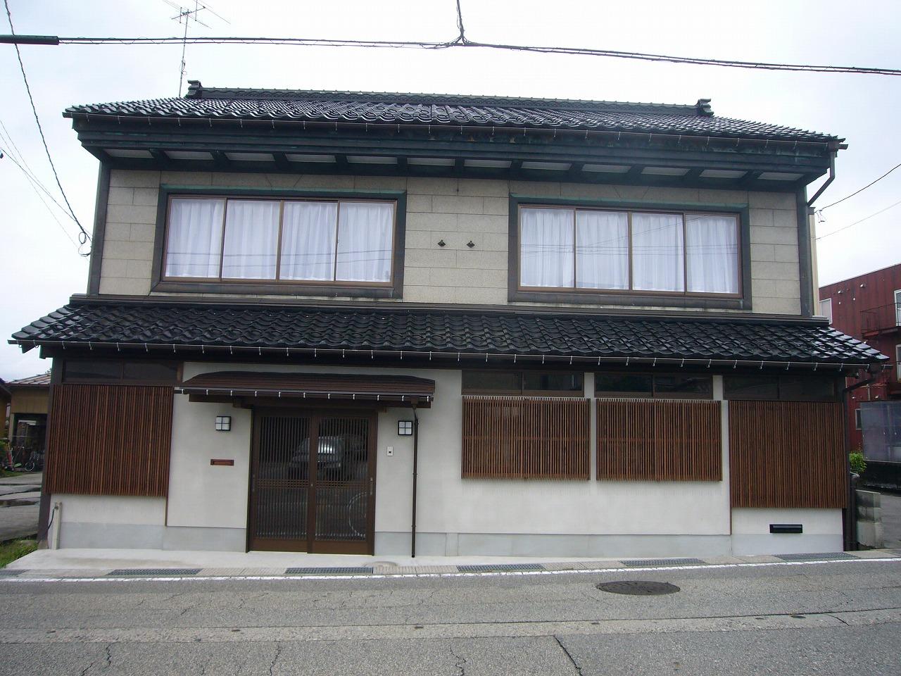 富山市外壁リフォームafter