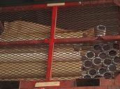 金属がついた紙管