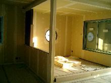 リビングの一角に掘りごたつ付きの和室