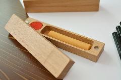 木製印鑑ケース(大)