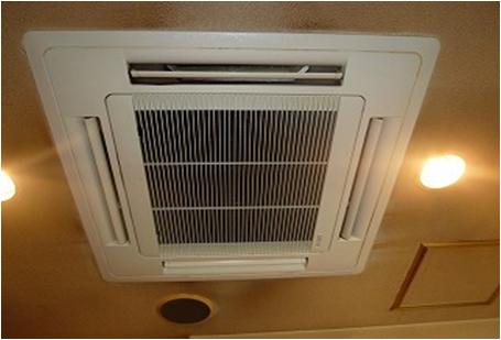 店舗 業務用エアコン分解洗浄
