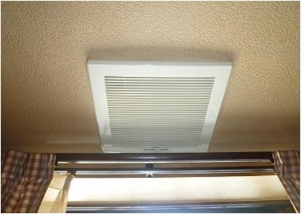 天井換気扇 洗浄後
