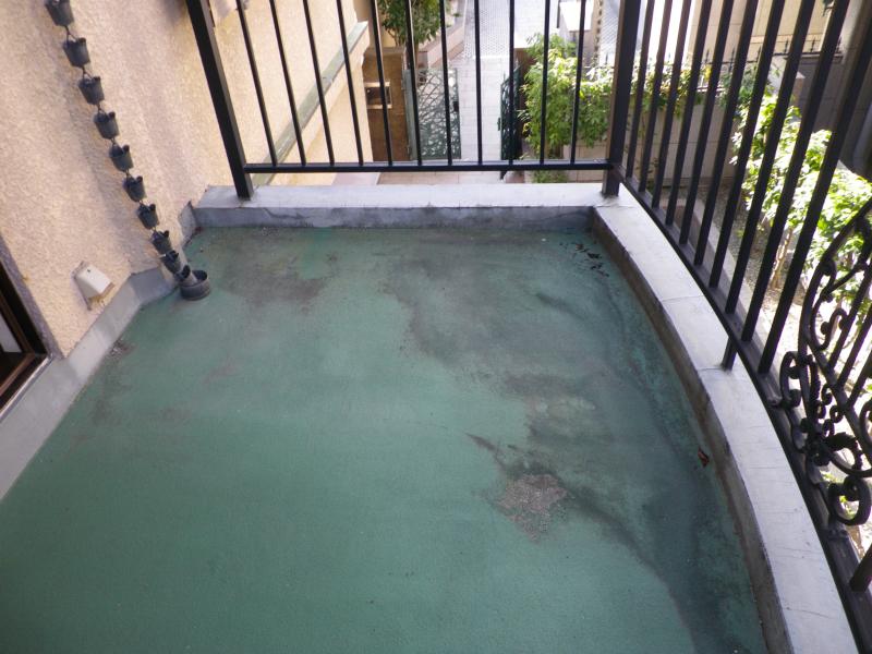 ベランダ防水状況