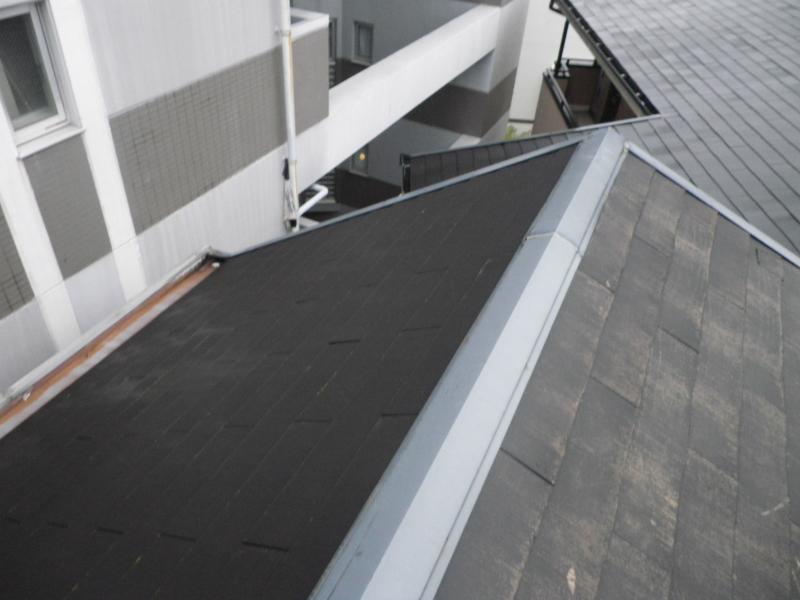 雨漏り補修補修工事 築25年