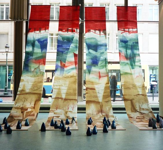ベルギー日本大使館文化交流センター 2003'「対話」