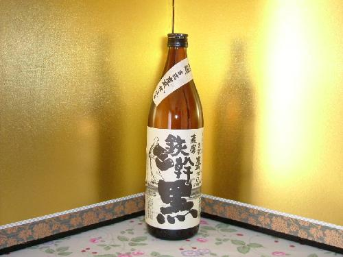 芋焼酎 オガタマ 鉄幹 黒 900ml