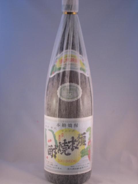 本格芋焼酎 須木焼酎 1.8L