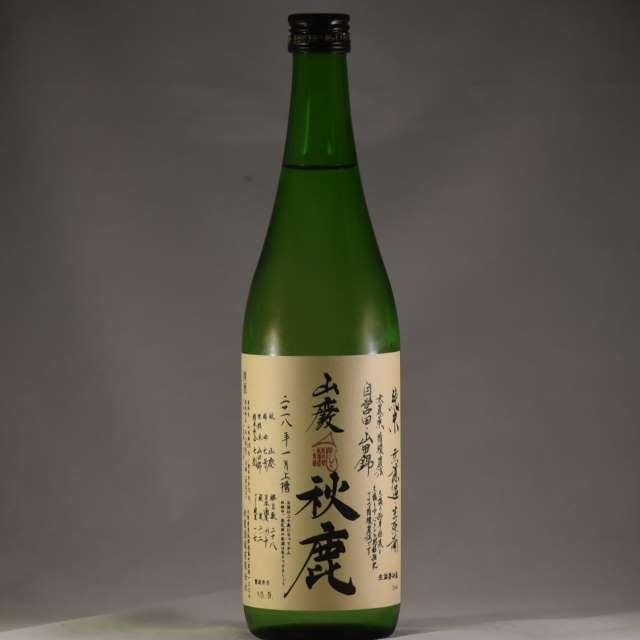 秋鹿 山廃 純米 無濾過生原酒  もへじ 720ml