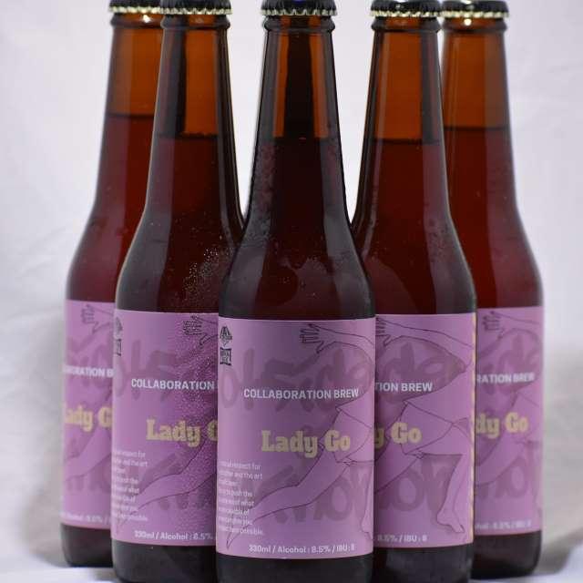 箕面ビール LADY GO 330ml 6本ボックス