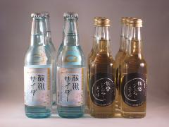能勢酒造 桜川サイダー ジンジャエール 12本セット