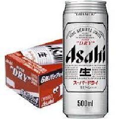 アサヒ スーパードライ 500ml缶1箱(24本)
