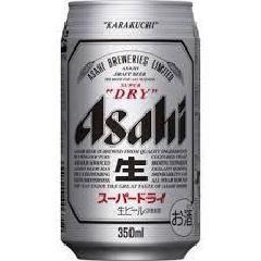 アサヒ スーパードライ 350ml缶1箱(24本)