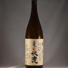 秋鹿 純米 山廃山田 無濾過 火入原酒  もへじ 1.8L
