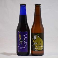箕面ビール カベルネ3本・ゆずホ和イト3本  6本ボックス