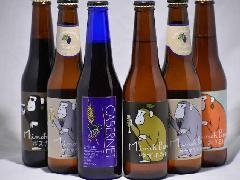 箕面ビール 限定6種 6本 ボックス �@