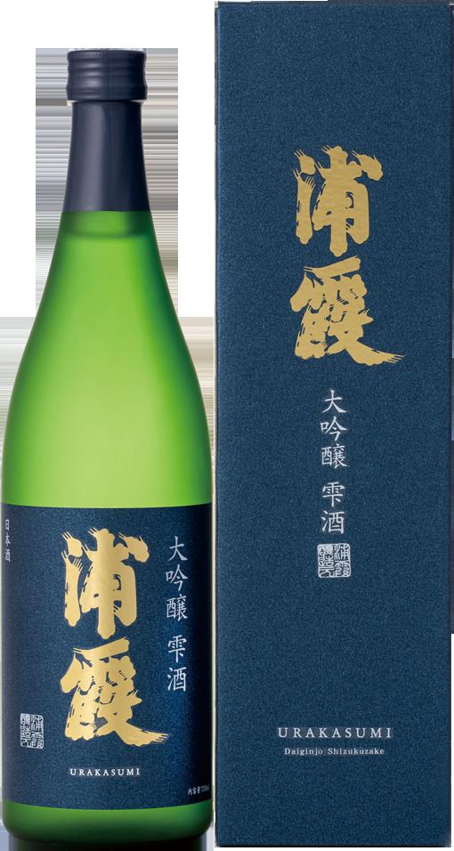 浦霞 大吟醸 雫酒 720ml