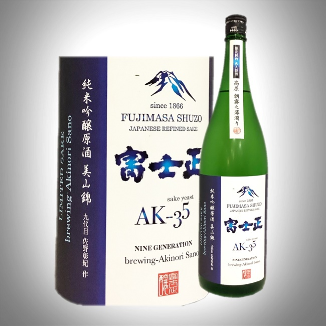 富士正 純米吟醸原酒うすにごり 1800ml