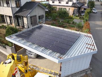 T様邸 太陽光設置(4.56kWシステム)