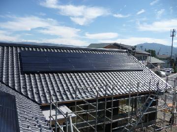 T様邸 太陽光設置(5.13KWシステム)