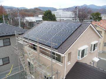 A様邸 太陽光発電設置(4.8kWシステム)