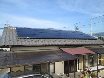 S様邸 太陽光発電設置(4.56kWシステム)