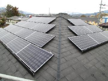 S様邸 太陽光発電設置(4.00kWシステム)