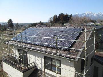 U様邸 太陽光発電設置(4.66kWシステム)