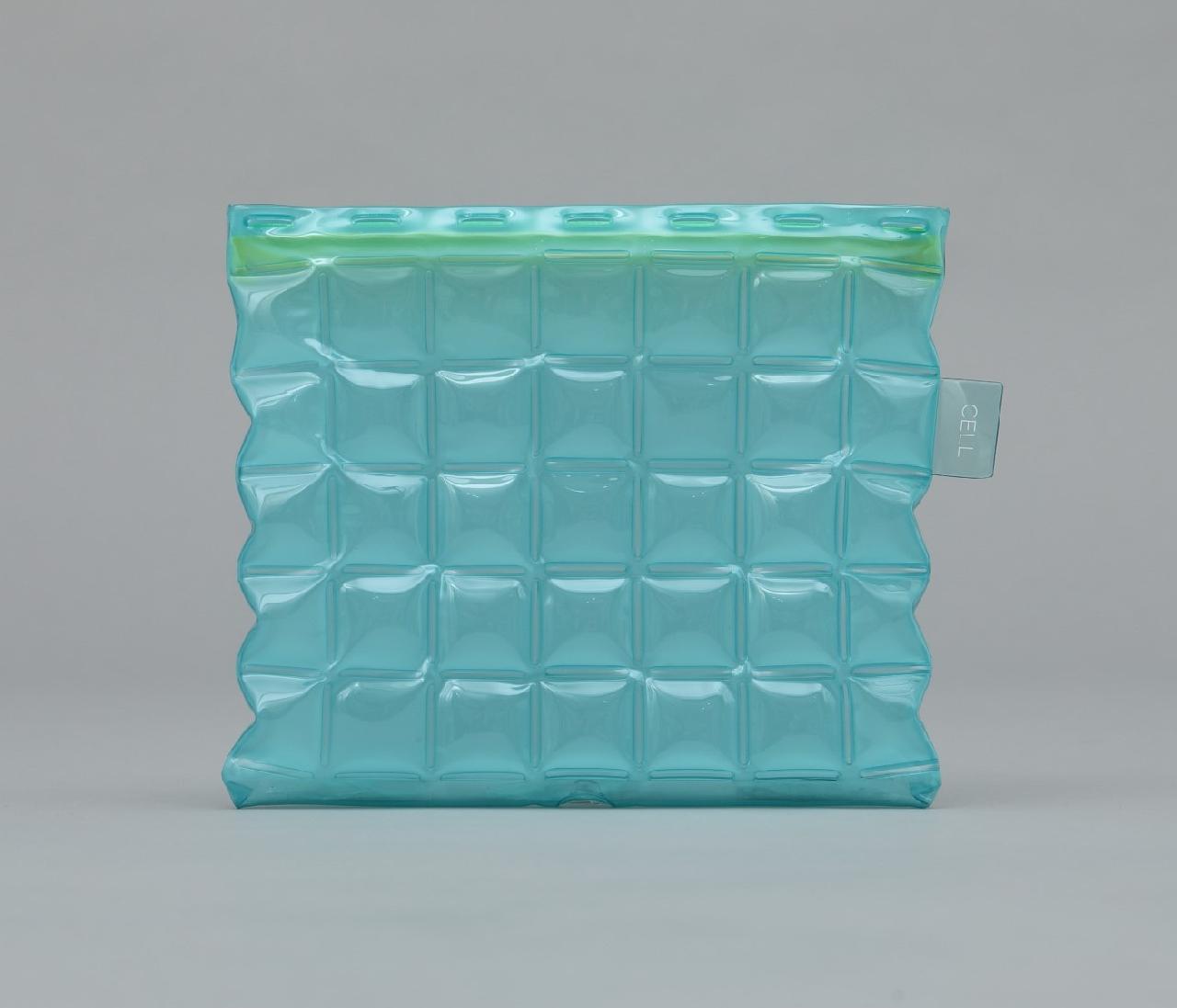 PC CELL mini 色透明ブルー