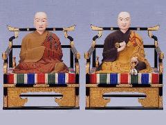 弘法大師・興教大師像(023-01)