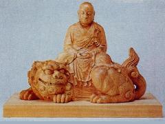 僧形文殊菩薩像(024-01)