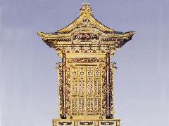 前妻屋根「四本柱」(036-01)